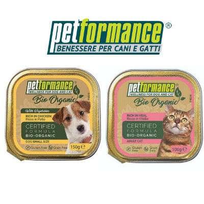 Petformance scatolette cibo cani e gatti, offerta 3x2