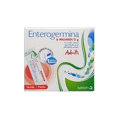 ENTEROGERMINA*OS 9BS 6MLD/2G