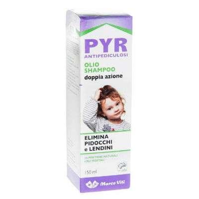 Pyr olio shampoo antipediculosi