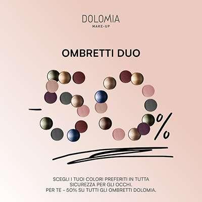 DOLOMIA OMBRETTI SCONTO 50%