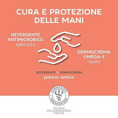 UNIFARCO DETERGENTE ANTIMICROBICO + DERMOCREMA OMEGA3