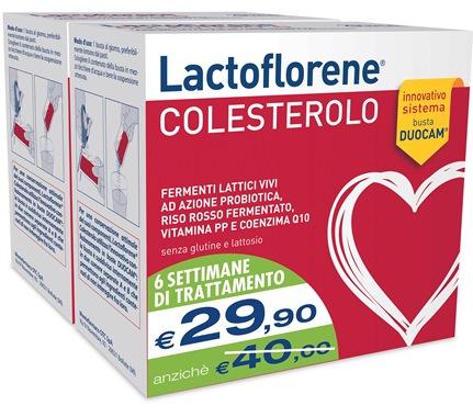 LACTOFLORENE COLESTEROLO BIPAC