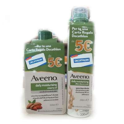 Aveeno spray doccia 250ml