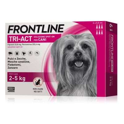 FRONTLINE TRI-ACT CANI 2-5 KG