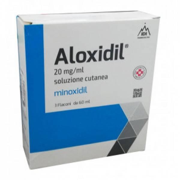 ALOXIDIL*SOLUZ 3FL 60ML20MG/ML