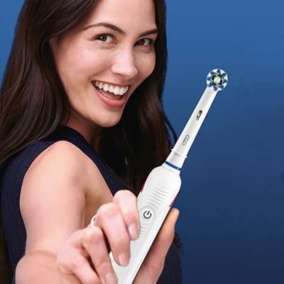 OralB PRO spazzolini elettrici