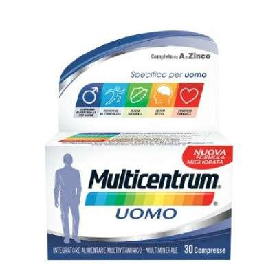 Multicentrum Uomo - 30cpr
