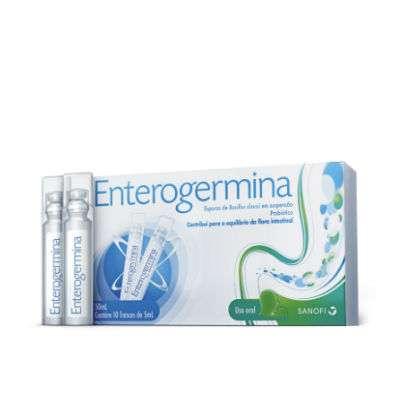Enterogermina 2 miliardi / 5 ml 10flaconcini