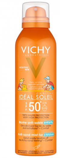 VICHY IDEAL SOLEIL SPRAY SOLARE ANTI-SABBIA KIDS SPF50 200ML
