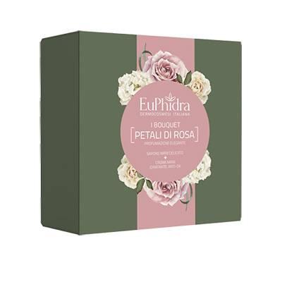 Euphidra I Bouquet petali di rosa