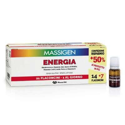 Massigen Energia 21 flacconi