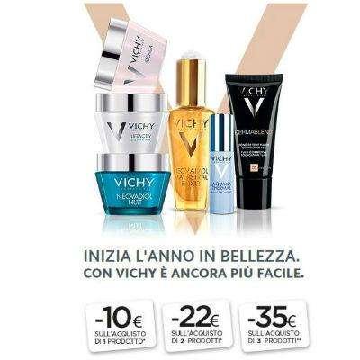 Vichy sconti da 10€, 22€ o 35€