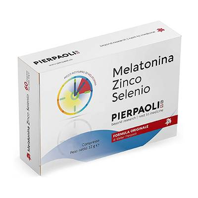 Melatonina zinco selenio 30cpr