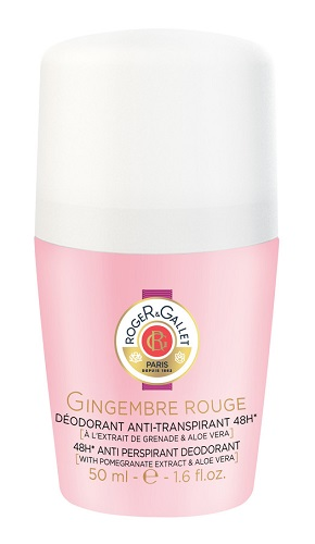 ROGER&GALLET GINGEMBRE ROUGE DEODORANTE ROLL-ON 50ML