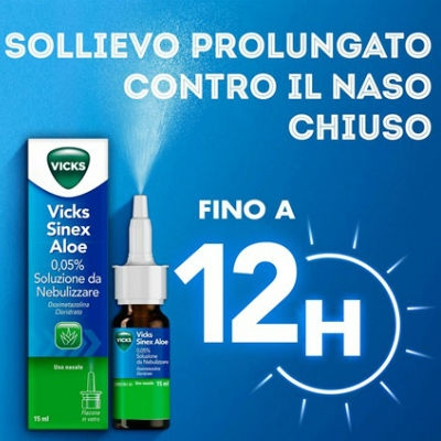 Vicks Sinex Aloe spray