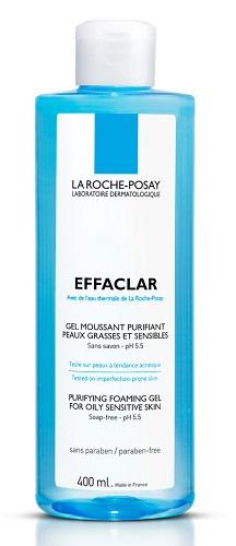 LA ROCHE-POSAY EFFACLAR GEL MOUSSE 400ML