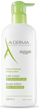 A-DERMA LES INDISPENSABLES LATTE CORPO 400ML