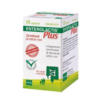 Enterolactis Plus 15 capsule con OMAGGIO per Bimbi