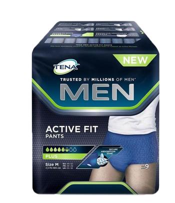 TENA MEN PANTS ACTIVE FIT M 9P