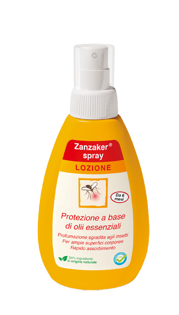 ZANZAKER LOZIONE SPRAY 150ML