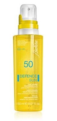 BIONIKE DEFENCE SUN OLIO SOLARE ALTA PROTEZIONE SPF50 150ML