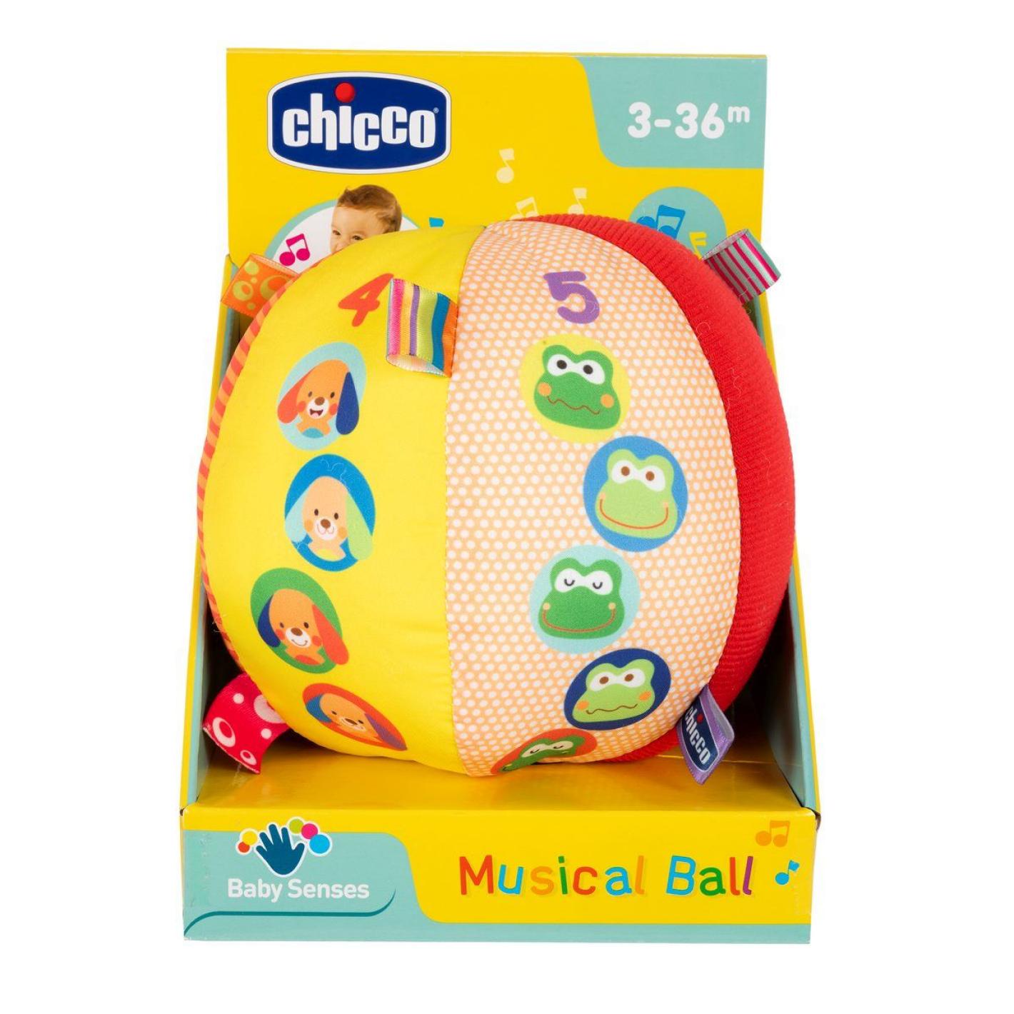 CHICCO GIOCO BS PALLA MUSIC RESTY