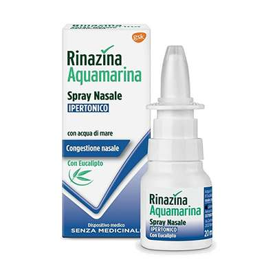 Rinazina Aquamarina spray nasale ipertonico