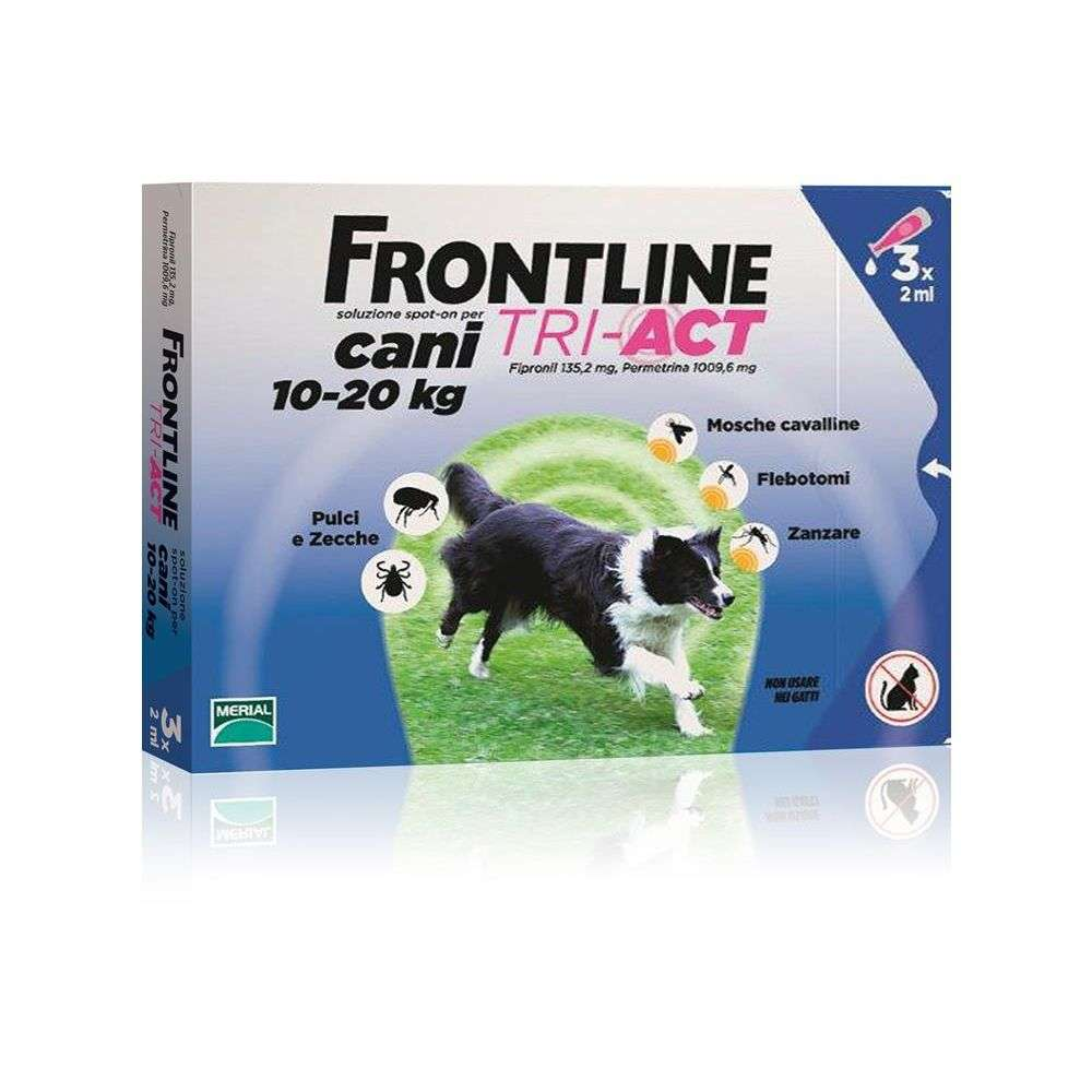 FRONTLINE TRI-ACT 10-20KG 3PIPETTE