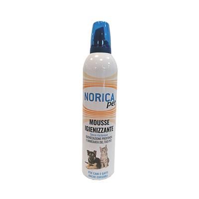 Norica Pet mousse igienizzante senza risciacquo 400ml