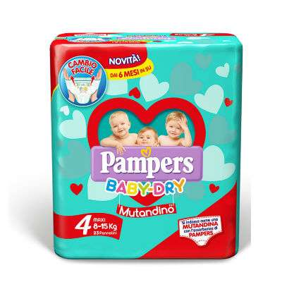 NUOVA LINEA PAMPERS BABY-DRY