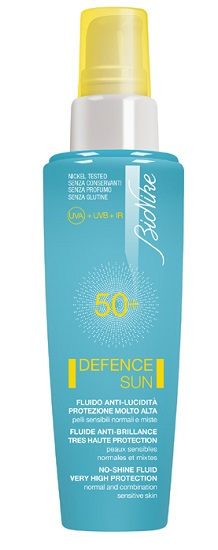 BIONIKE DEFENCE SUN FLUIDO VISO ANTI-LUCIDITA' SPF50+ 50ML