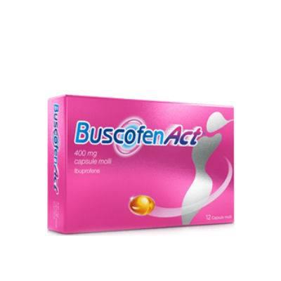 BUSCOFENACT 12CPS 400MG