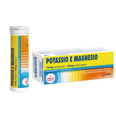 Dompè magnesio e potassio 12cpr