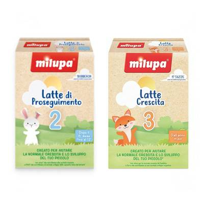 Milupa latte 2/3