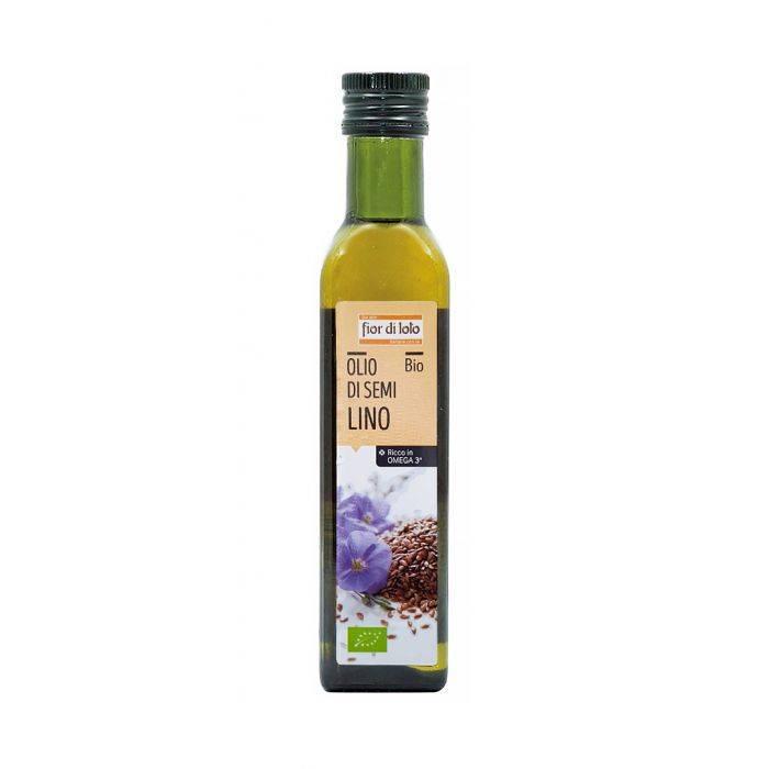 Fior di loto olio di semi di lino