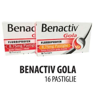 BENACTIV GOLA 16 PASTIGLIE