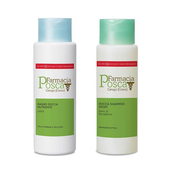 PROMO DEL MESE - Doccia shampoo sport o bagno doccia nutriente