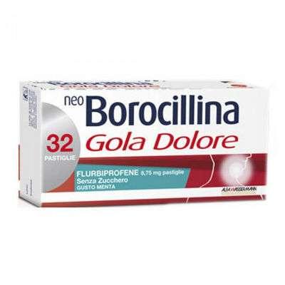 NeoBorocillina 32 pastiglie menta