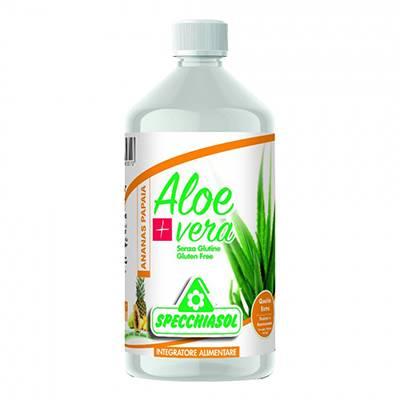 Specchiasol succo aloevera + anan/pap 1lt