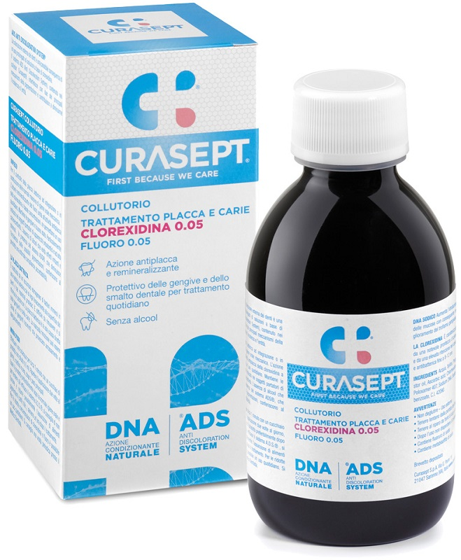 CURASEPT COLL0,05 200MLADS+DNA