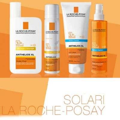 La Roche-Posay 10% sconto su tutti i solari