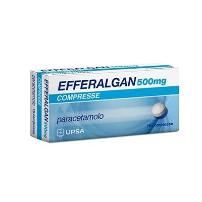 EFFERALGAN 16CPR