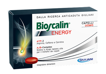BIOSCALIN ENERGY CAPELLI UOMO 30CPR