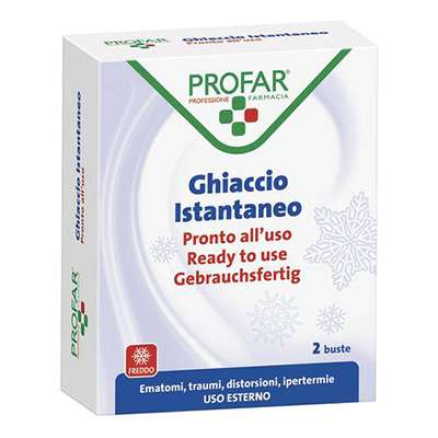 PROFAR GHIACCIO ISTANTANEO 2 BUSTE