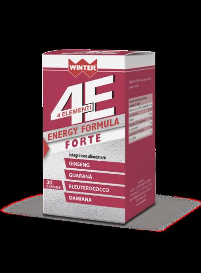 ENERGY FORMULA FORTE 4ELEMENTI 30 CAPSULE WINTER
