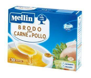 MELLIN BRODO POLLO 10BUSTX5G