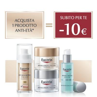 Eucerin SCONTO 10€ acquistando 1 prodotto antietà