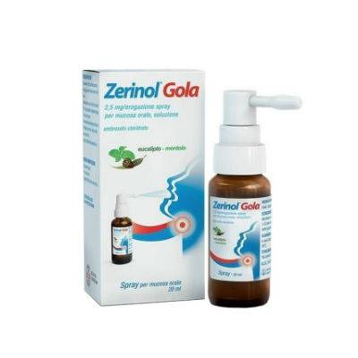 ZERINOL GOLA SPRAY ORALE