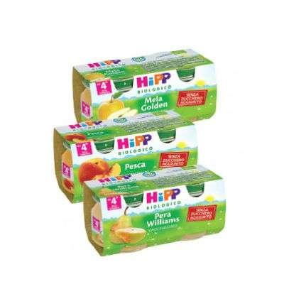Hipp omogeneizzati frutta