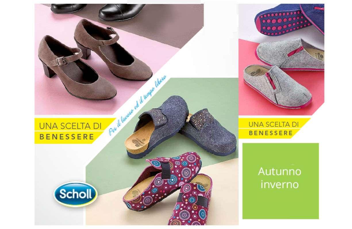 Ciabatte/scarpe SCHOLL'S 10% sconto su tutta la stagione invernale